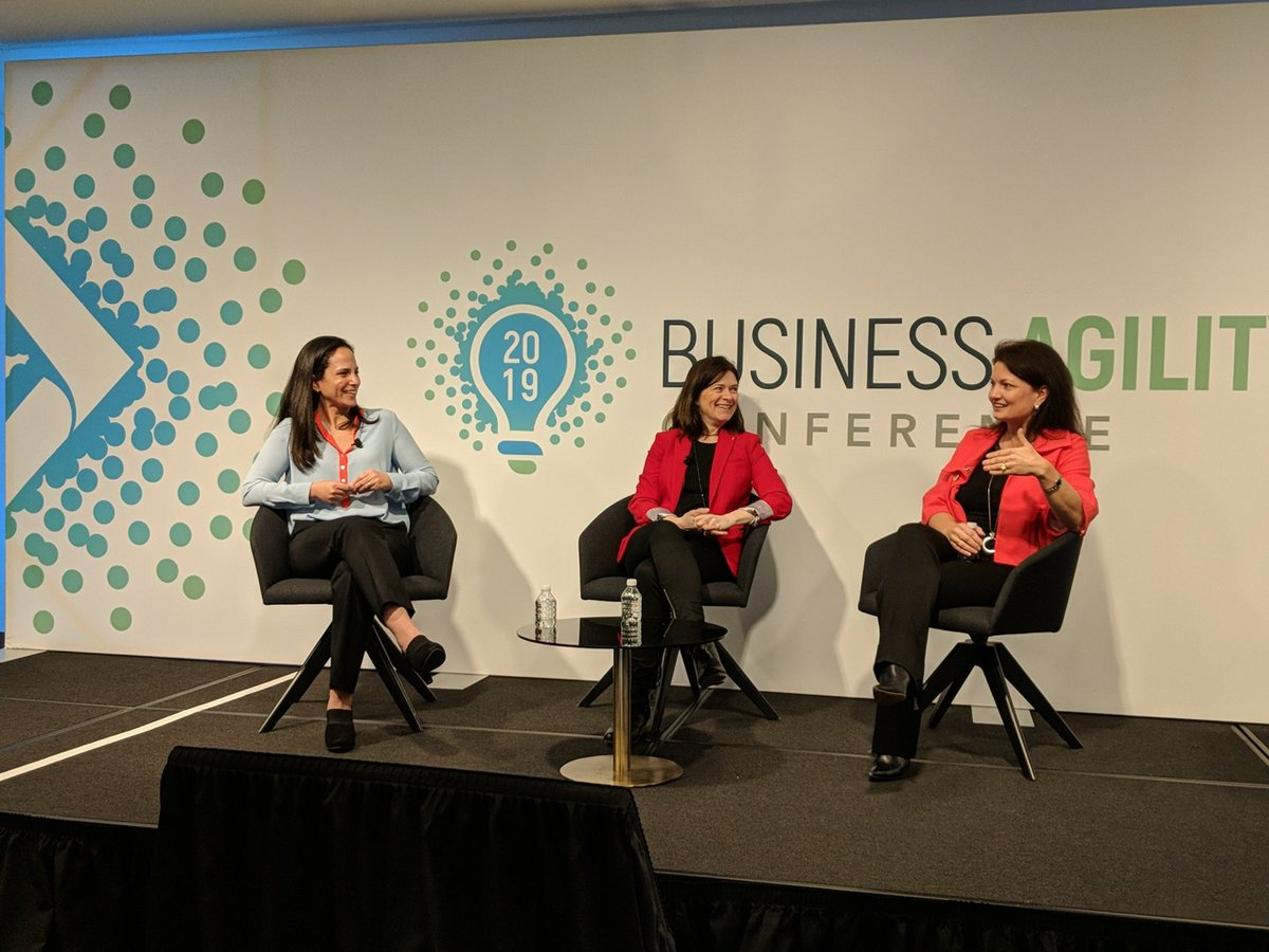 2019 Business Agility Conference panelists